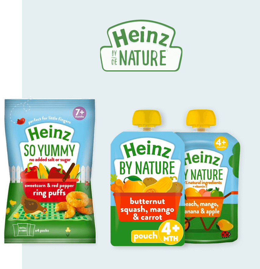 Heinz by nature products